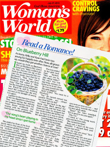 On Blueberry Hill by Kady Winter in Woman's World July 2015