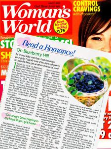 On Blueberry Hill by Kady Winter in Woman's World July 2015