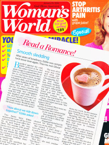 Smooth Sledding by Kady Winter in Woman's World Jan 2016